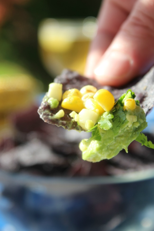 Avocado and Grilled Corn Salsa