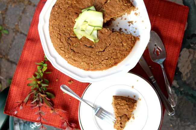 Gluten-Free 5 Spice Zucchini Snacking Cake for fall