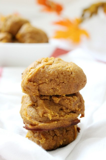 Soft and Pillowy Pumpkin Cookies Gluten Free