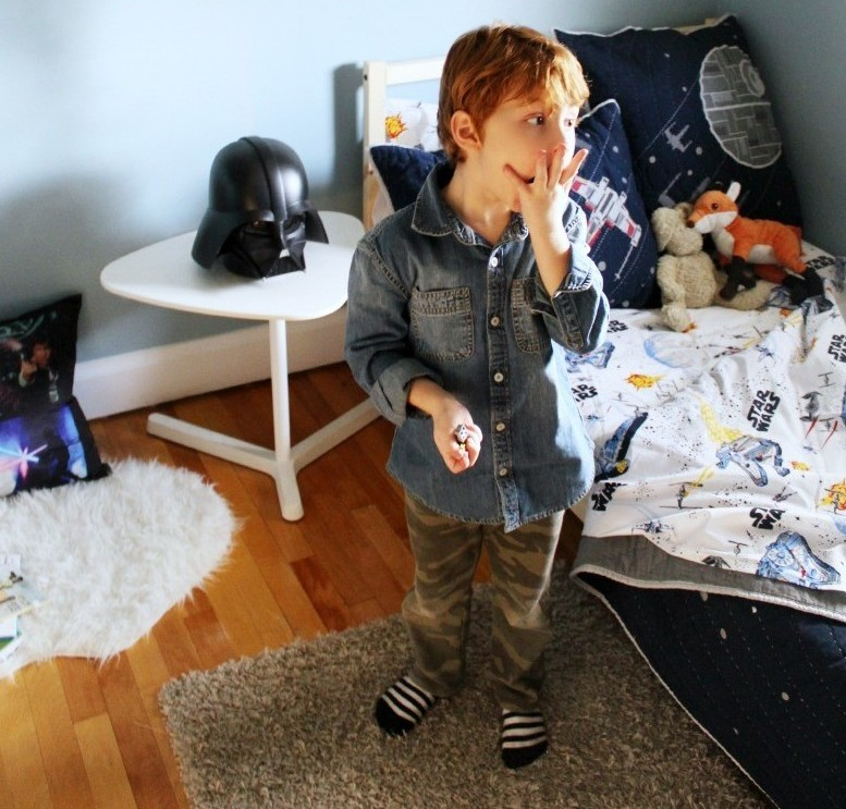 Star Wars Theme Big Boy Room Makeover