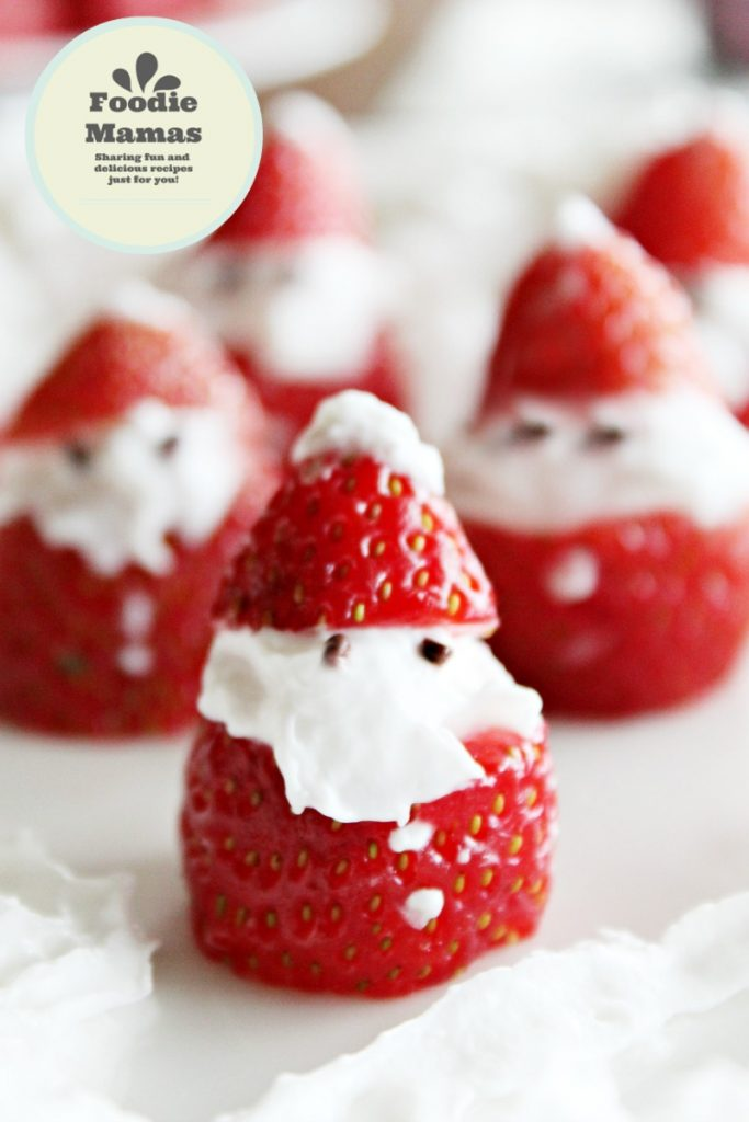 Cute Strawberry Santas