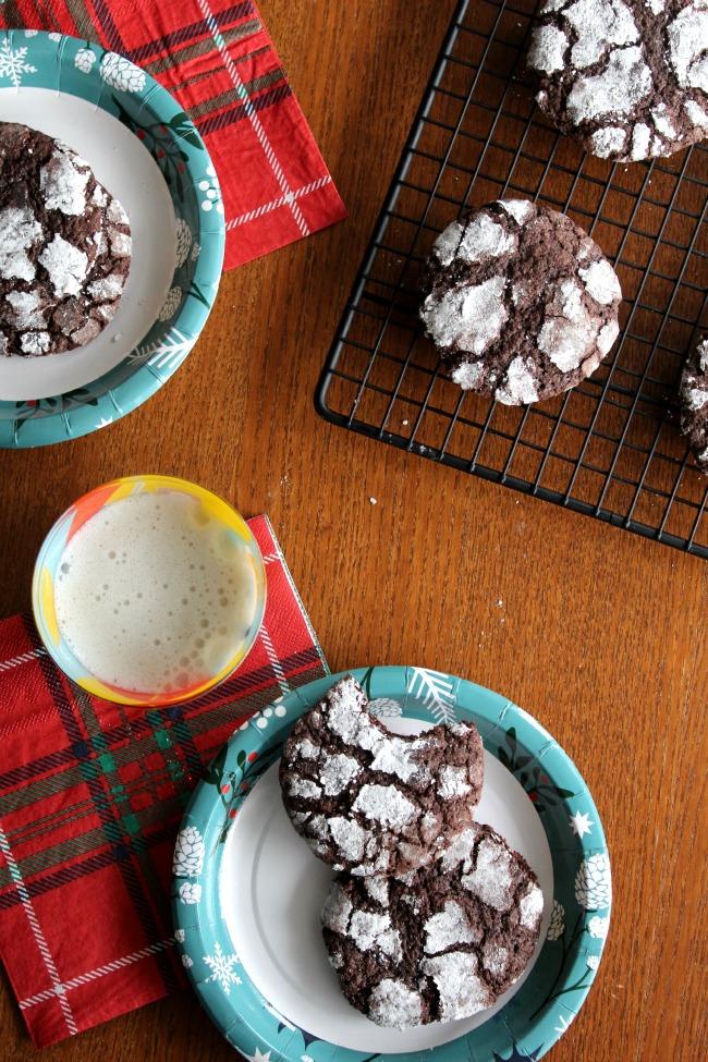 Gluten-Free Crinkle Cookies