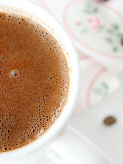 Rich and Creamy Hot Chocolate #FoodieMamas