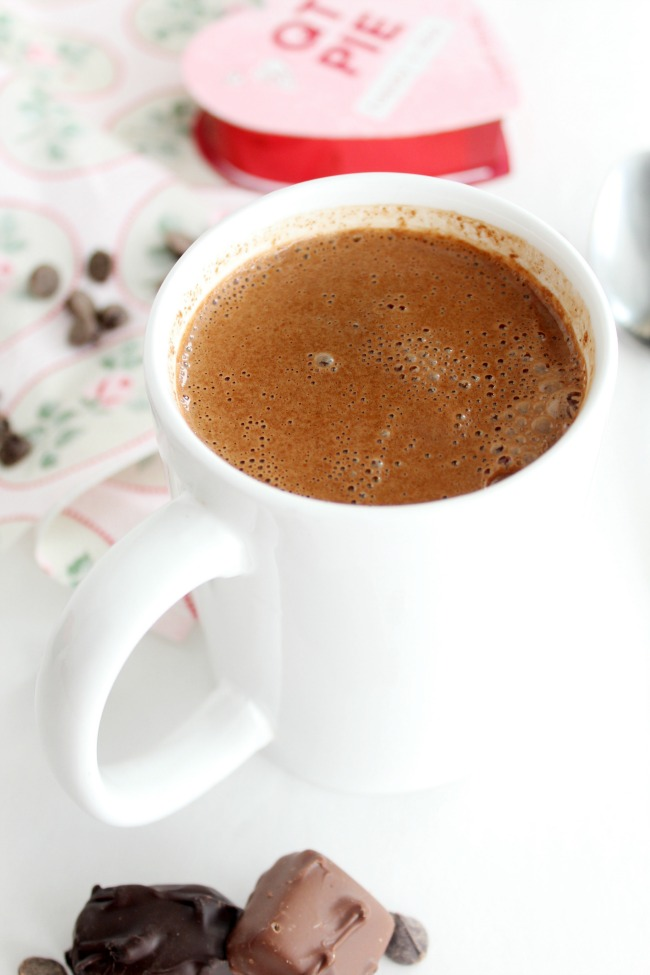 Extra Creamy & Rich Hot Chocolate www.bestofthislife.com 650 x 975