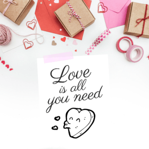 Love is all you need downloadable art print