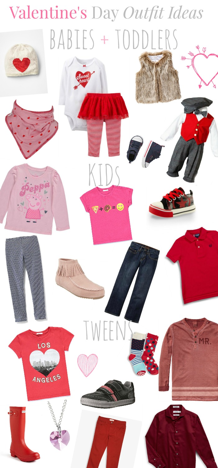 Valentine's Day Outfit Ideas for Kids