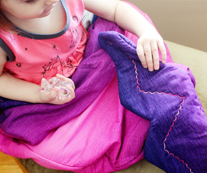 Tropical Mermaid Tail For Kids Review