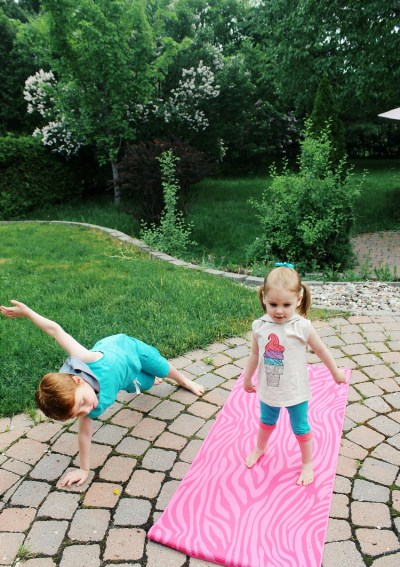The Benefits of stretching and yoga for kids