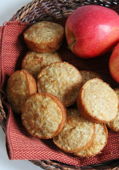 Gluten-Free Apple Spice Snacking Muffins