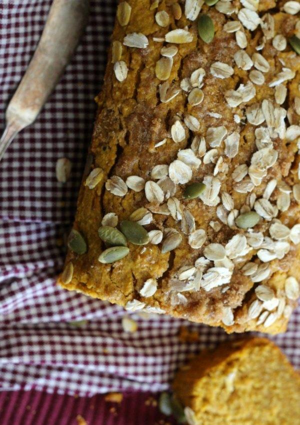 A Hearty Gluten-Free Pumpkin Oat Bread For A Cool Autumn Day