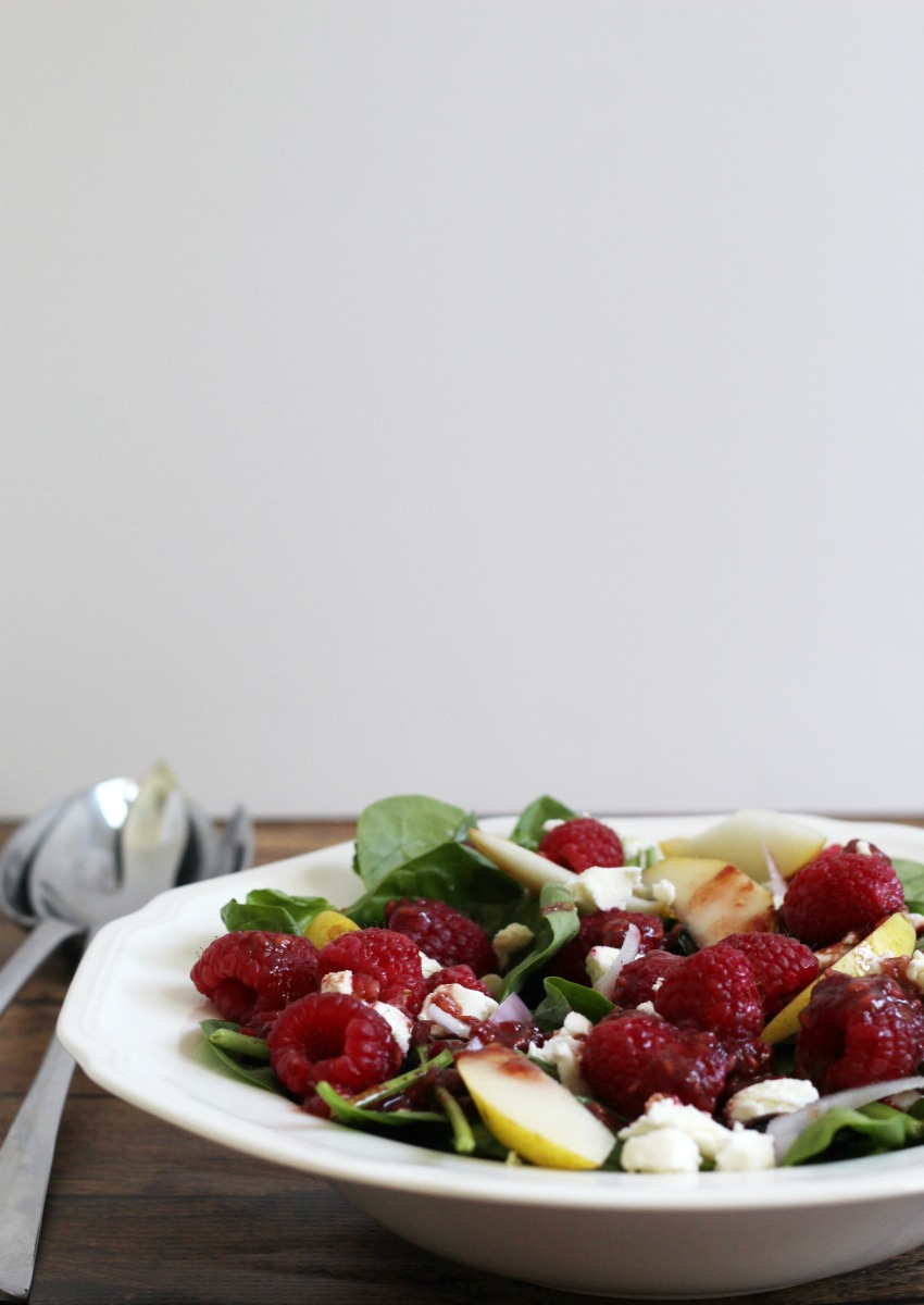 raspberry-pear-salad