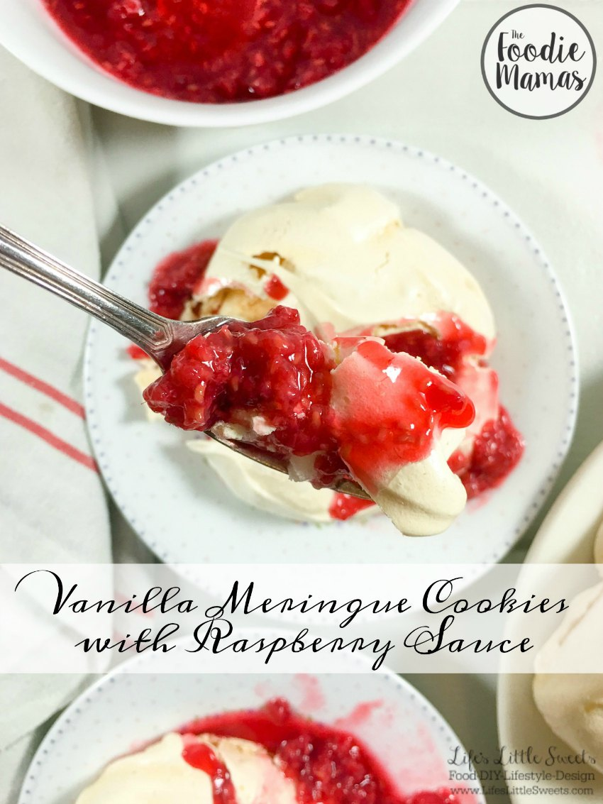vanilla-meringue-cookies-with-raspberry-sauce-www-lifeslittlesweets-com-pavlovas-agave-lemon-honey-macerated-fresh-raspberries-1