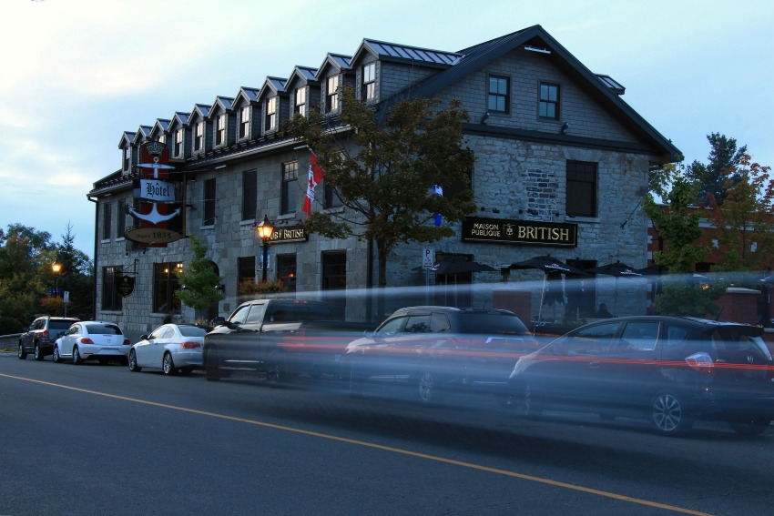 The British Hotel in Old Aylmer-Gatineau
