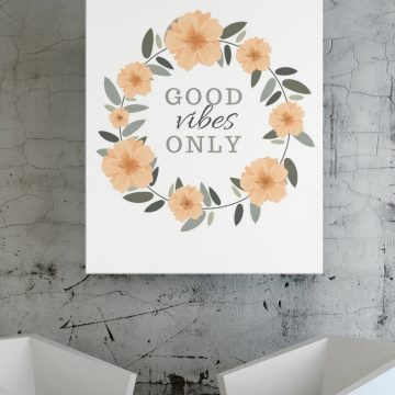 Good Vibes Only Print 360x360