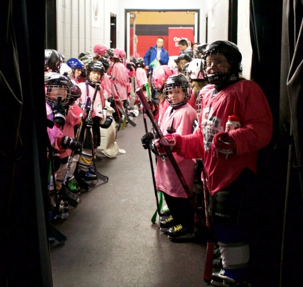 Young Athletes Dream Big at Scotiabank Girls HockeyFest