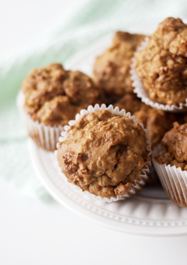 Tasty & Healthy Gluten-Free Carrot Apple Muffins