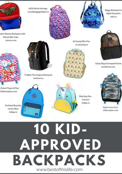 Kid-Approved Backpacks That Are Cool For School