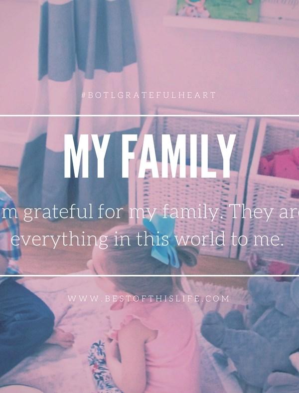 A Grateful Heart is a Joyful Heart: My Gratitude List