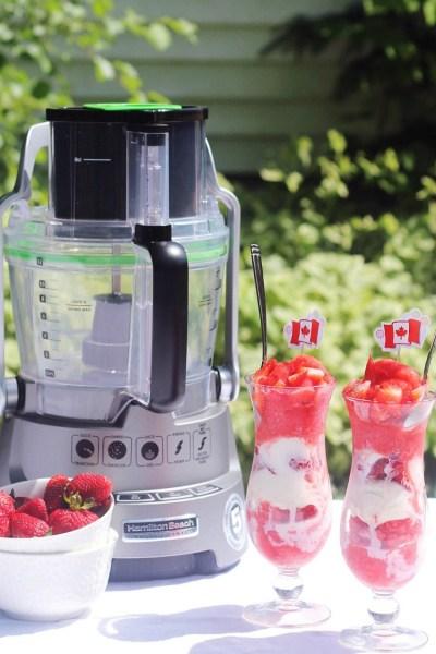 How to Make Strawberry Granita in a Food Processor