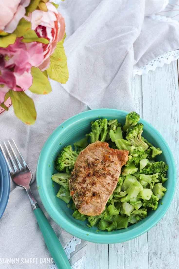 Easy Pork Chop Recipes: Lemon Oregano Pork Recipe