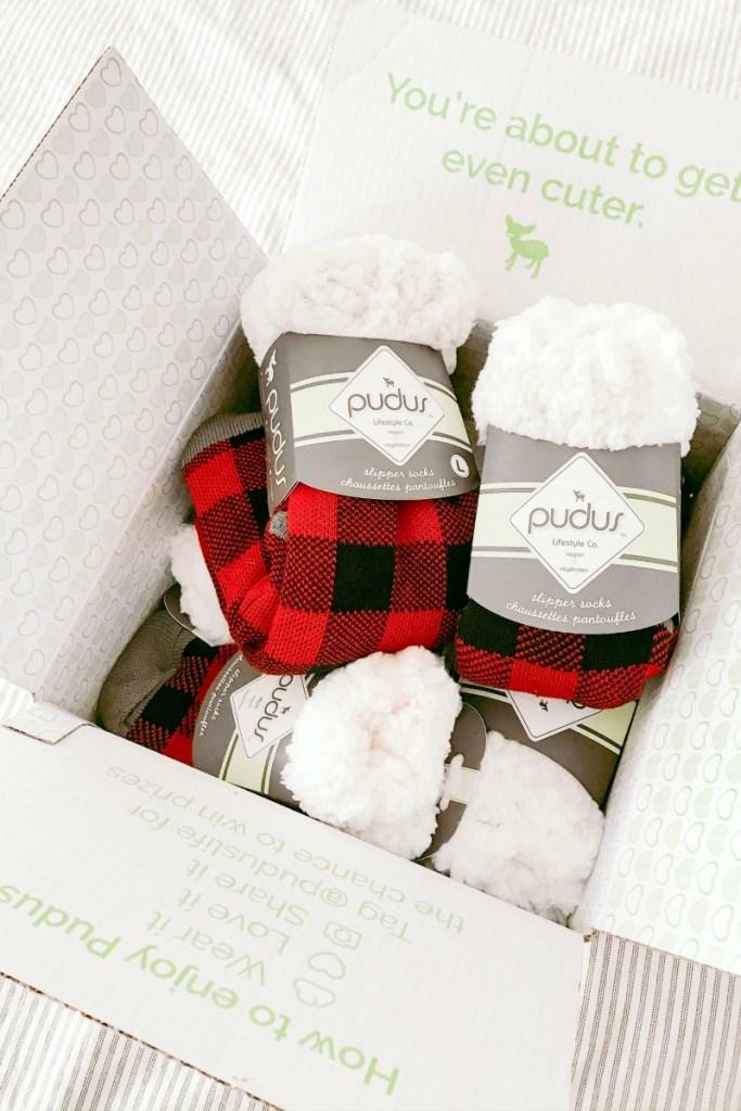 Pudus Cozy Slipper Socks
