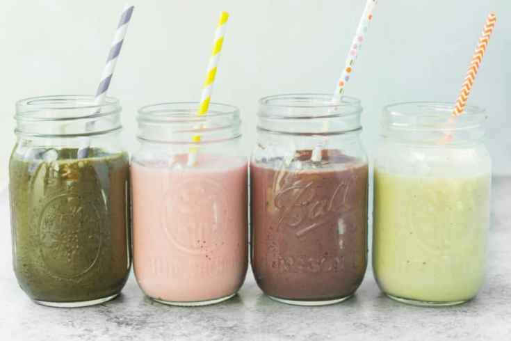 4 Healthy Smoothie Recipes Kids & Adults Will Love