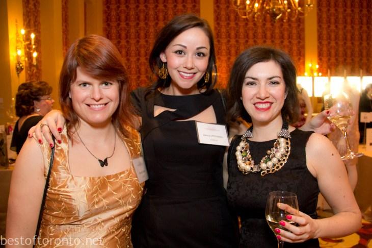 L-R Authors Megan Crewe, Grace O'Connell
