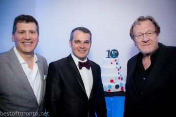 Fuse Marketing Group founders Garo Keresteci, Stephen Brown and chairman, Michael Preston
