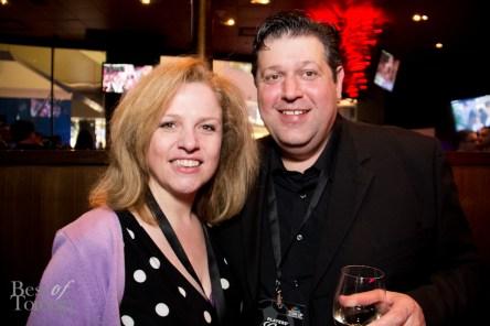 Nice surprise seeing friends from Cirillo's Culinary Academy! Margit Cirillo, John Cirillo