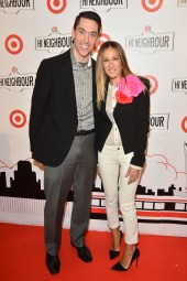 Tony Fisher, president, Target Canada with Sarah Jessica Parker | Photo: George Pimentel