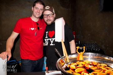 """Brynley Leach & Rob Montgomery, Campari """"Negroni with a Touch"""""""