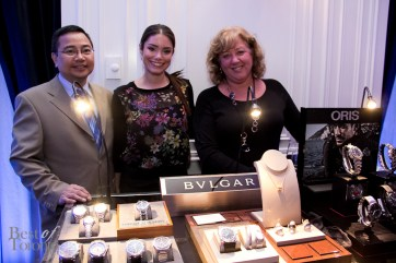 Bulgari watch display by Bandiera Jewellers