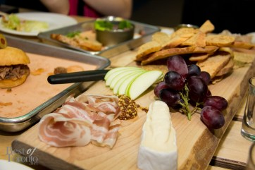 Cheese and Meats - Market Cheese, SPiN's cured meats, pickles, Kozil