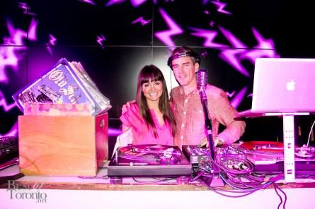 Jennifer Love, DJ Ef Sharp