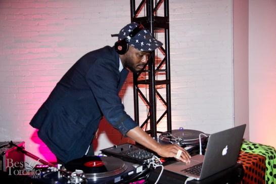 Celebrity DJ K-os