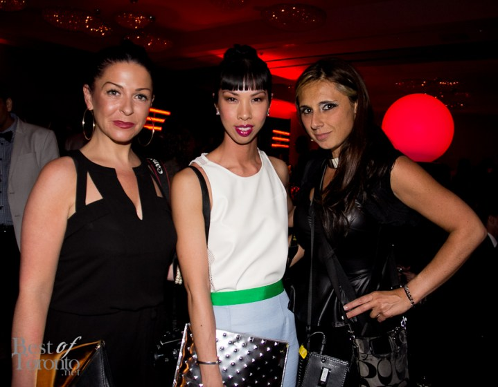Nicki Laborie, Kimberly Lyn, Sonia Recchia
