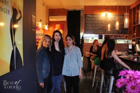 middle: Elizabeth Choi, right: Joanne Park