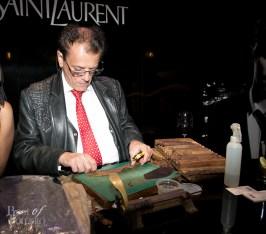 Yves Saint Laurent hand-rolled cigars