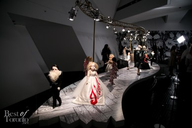 Preview of the ROM's latest exhibition, Viktor&Rolf's DOLLS as part of the Luminato Festival