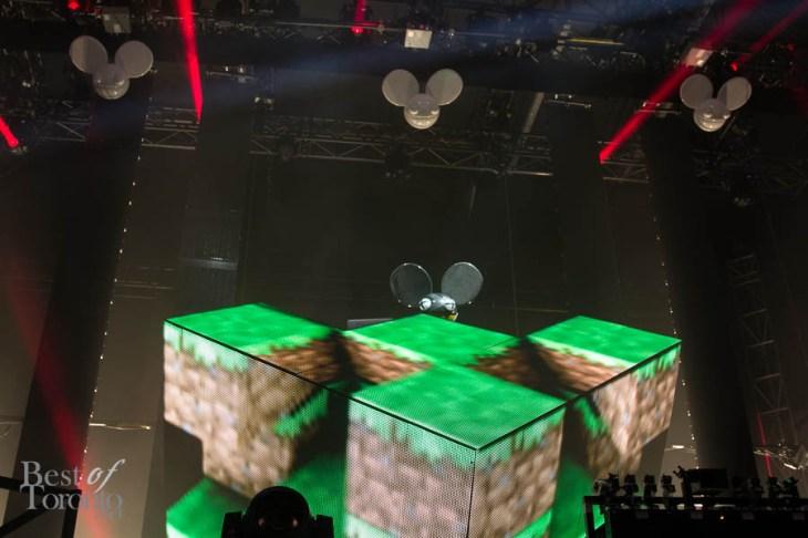 Deadmau5 performing at VELD 2013 | Photo: Nick Lee