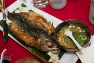 Crispy mackerel