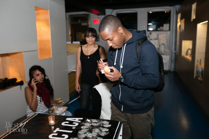 At the Remix Project table