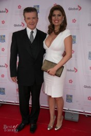 left: Alan Thicke, inductee