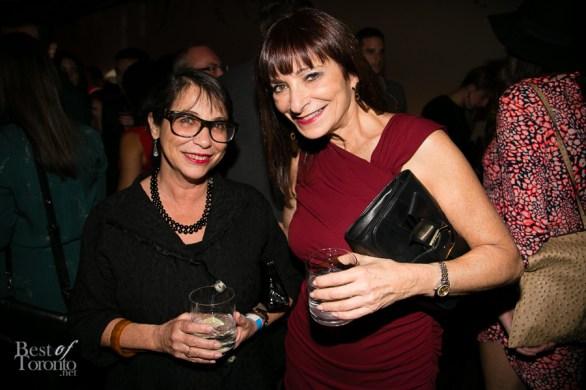 right: Jeanne Beker