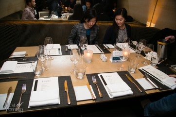 Our table at Bymark