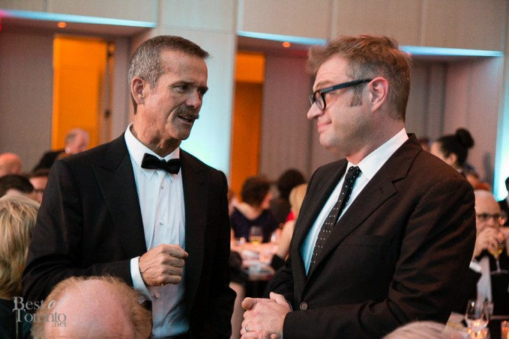 Chris Hadfield, Steven Page