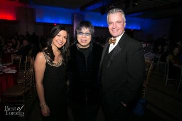 Melanie Ng (City), Chef Alvin Leung, Roger Petersen (City)