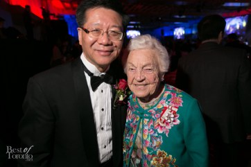 Dr. Joseph Wong and Mayor Hazel McCallion