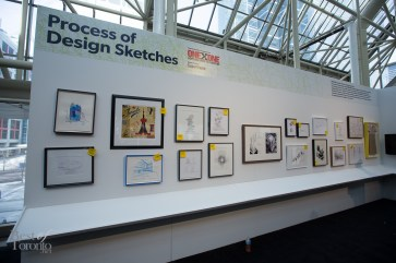 Design Sketches auction in support of the ONEXONE charity
