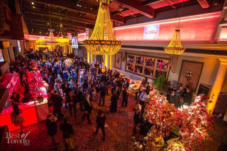 Motionball's Fall room at The Liberty Grand